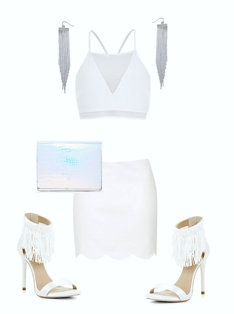 How To Wear An All White Outfit 2