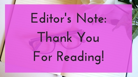 Thank YouFor Reading!